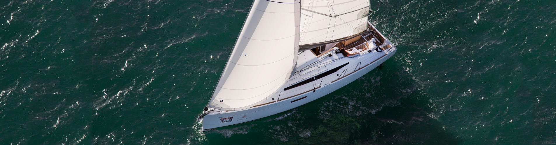 Sun Odyssey 349 | Rent a Sailboat Croatia